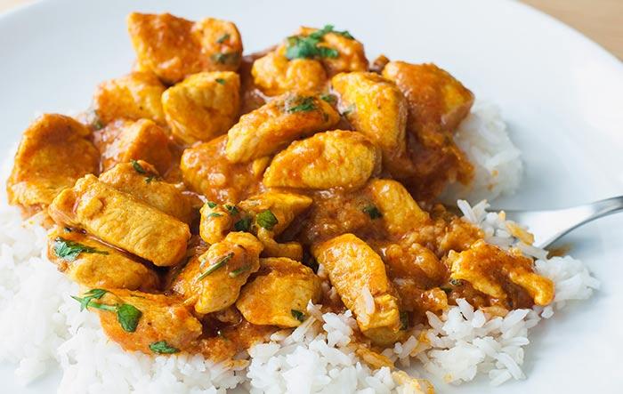 Pollo al curry qu hago de comer hoy for Que hacer para comer hoy