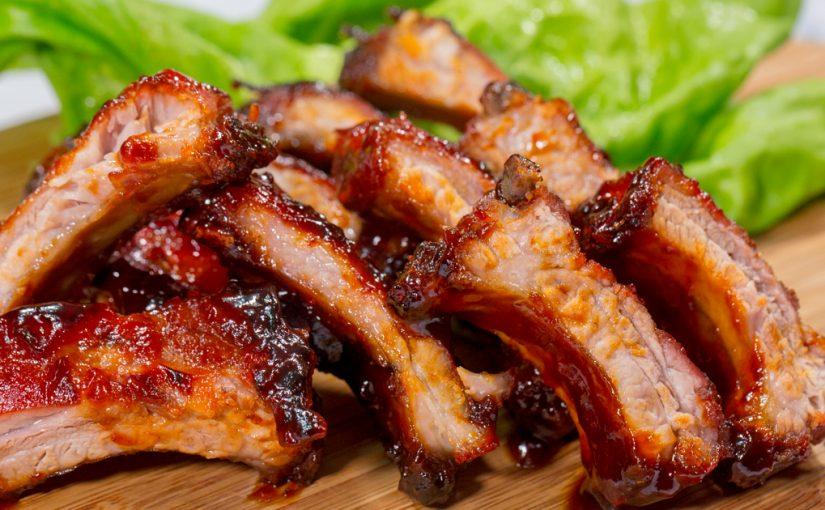 Costillas de cerdo a la bbq qu hago de comer hoy for Que hacer para comer hoy