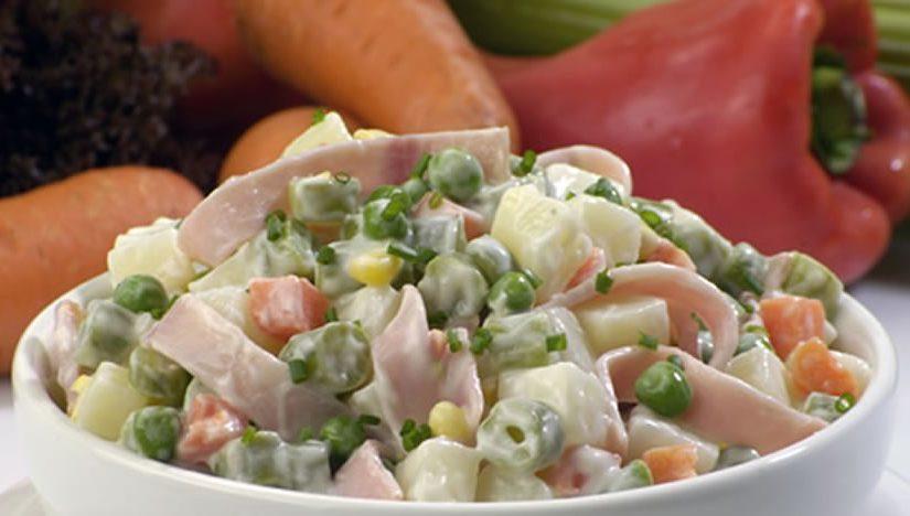 Ensalada de verduras qu hago de comer hoy for Que hacer para comer hoy
